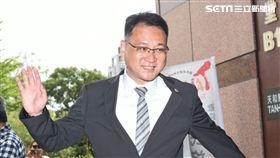 民進黨中央選對會召集市議員商討北市選戰布局,阮昭雄。 (圖/記者林敬旻攝)