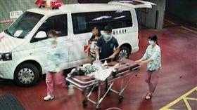 彰化,虐童,女童,顱內出血,虐待,家暴,瘀青,社會處(圖/翻攝畫面)