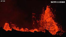 夏威夷火山噴發瞬間 圖/AP授權