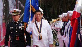 杜特蒂出席海軍建軍120週年慶