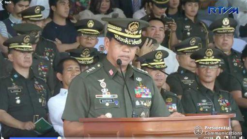 菲律賓,陸軍司令,包蒂斯塔,Rolando Bautista(圖/推特)