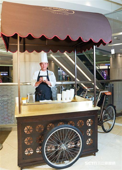 福里安花神咖啡,台中店,Caffé Florian。(圖/新光三越提供)
