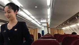 北韓出動「正妹空姐」服務外媒 「油炸鱉」登午宴菜單 圖/翻攝自twitter