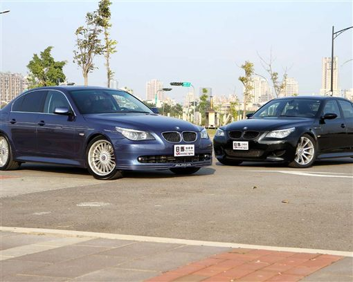 Alpina B5 vs. BMW M5 E60最強車款對決(1/3)外觀篇