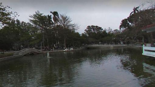 屏東公園,水池(圖/翻攝GOOGLE)