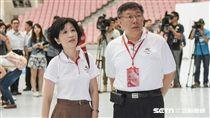 陳佩琪,柯文哲 圖/記者林敬旻攝