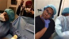 醫美,手術,開刀,嘻哈,聽音樂,跳舞,癱瘓(圖/翻攝臉書)