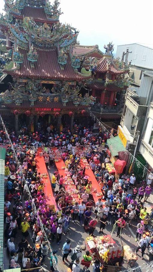 2018白沙屯媽進香圓滿落幕(圖/翻攝自白沙屯拱天宮臉書)
