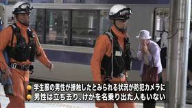 日本,JR,電車,岩手縣,意外,事故,消失 圖/翻攝自IBC岩手放送