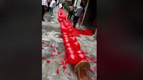 鞭炮,結婚,氣球,取代,大陸,爆笑公社 圖/翻攝自臉書爆笑公社