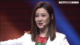 《我要當女一》安心亞感動不已,淚灑現場。(圖/TVBS提供)