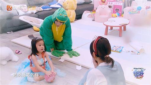 賈靜雯,咘咘,修杰楷,媽媽是超人3,/翻攝自YouTube