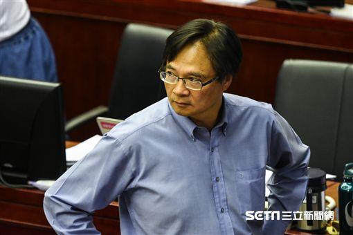台北市政府民政局長藍世聰。 (圖/記者林敬旻攝)