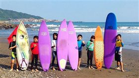 ▲淨灘守護海洋活動。(圖/衝浪運動協提供)