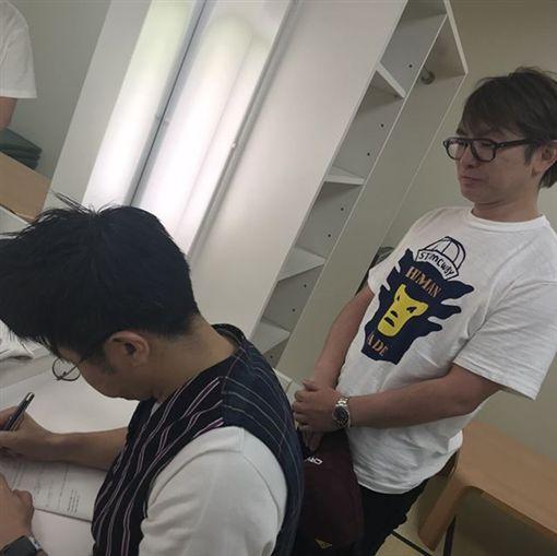 濱口優南明奈結婚 圖翻攝自hamaguchi_masaru/IG