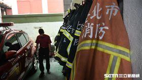 之謙消防專題專用,消防局示意圖、打火弟兄 (圖/記者林敬旻攝)