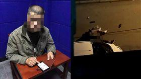 黑人性侵中國女大生,他偷拍PO網還諷刺(圖/微博)