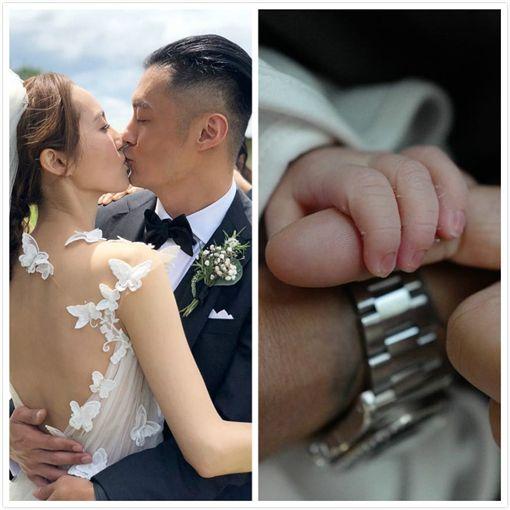 ▲▼余文樂與王棠云日前剛產下一名男寶寶。(圖/翻攝自IG)
