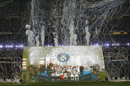 ▲皇家馬德里在歐冠3連霸。(圖/美聯社/達志影像)