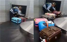 機場地勤超敬業 網友驚:這在台灣? (圖/翻攝自爆料公社臉書)