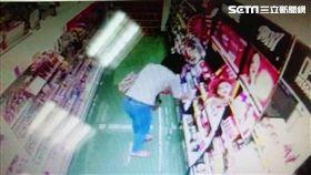 趙女一連竊取2家藥妝店,事後還到派出所報案,遭到警員一眼認出後逮捕,訊後依竊盜罪函送法辦(翻攝畫面)