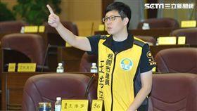 綠黨召集人,桃園市議員王浩宇