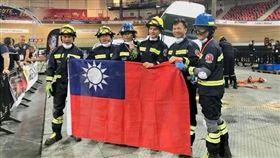 台灣消防員在法國車禍救援賽奪「優等獎」(圖/翻攝爆料公社)