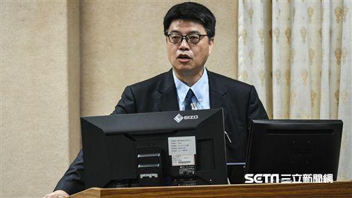 陸委會副主委邱垂正出席國防及外交委員會備詢。 (圖/記者林敬旻攝)