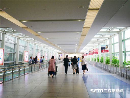 名古屋機場。(圖/記者馮珮汶攝)