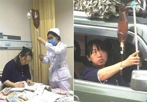 「不能耽擱學生!」敬業女老師重病溜出醫院 吊點滴上課《澎湃新聞》
