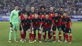 英格蘭隊有項大利多,由於比利時陣中主力幾乎都在英超踢球,因此對於比利時的球員踢法與個性十分熟悉。(圖/達志提供)