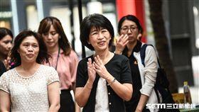 柯文哲太太陳佩琪醫師出席伊甸基金會活動。 (圖/記者林敬旻攝)