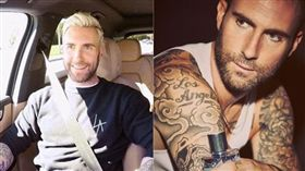 魔力紅(Maroon 5)主唱亞當李維(Adam Levine)。(翻攝IG)