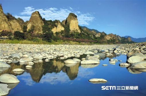 高雄旅遊,十八羅漢山。(圖/高市觀光局提供)