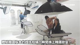 南韓照相館有狼! 偷拍女大生裙底風光