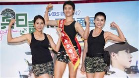 女兵日記、小嫻、劉香慈。(圖/TVBS提供)