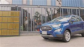 EcoBoost渦輪上身 小改款Ford EcoSport(圖/車訊網)