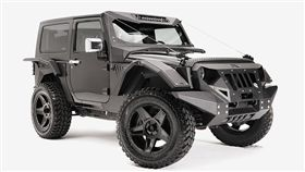 FAB FOURS Jeep Warngler車身改裝套件。(圖/翻攝FAB FOURS網站)