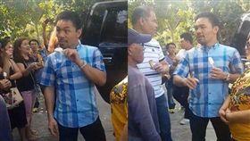 菲律賓拳王路邊吃冰,意外得知攤販身世,捐款送房還替對方找工作。(圖/翻攝Jen Manilay臉書)