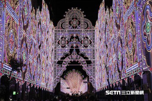 神戶LUMINARIE冬季光雕秀。(圖/神戶台灣推廣事務所提供)
