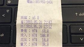 停車繳費碰上「超誠實發票」 網笑:擔心機器安危 爆料公社