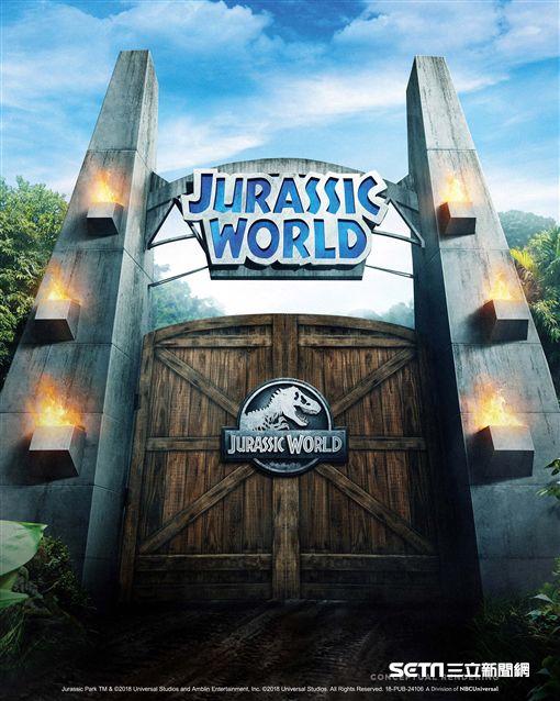 美環球影城侏羅紀公園。(圖/翻攝自網路)