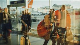 出國,機場,行李,遊客(圖/翻攝自Pixabay)