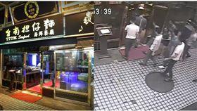 台北,萬華,華西街,黑衣人,討債,創辦人,女婿,欠債,華西街台南擔仔麵(圖/翻攝畫面)