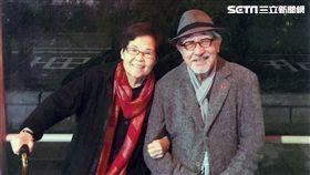 孫越2017年-孫叔與孫媽結婚58周年紀念合影 圖/董氏基金會提供