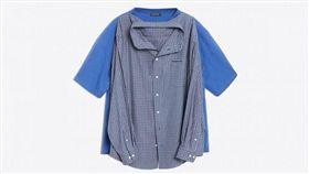 Balenciaga,T-shirt Shirt,巴黎世家,T恤襯衫(圖/翻攝自Dezeen)