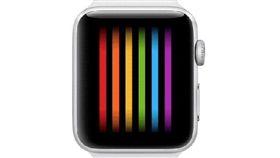 蘋果 Apple watch series 3 eSIM 彩虹 同志 同性戀 gay