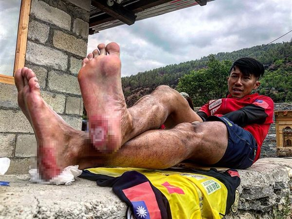台灣極限運動家、超馬選手陳彥博(圖/翻攝自陳彥博臉書)