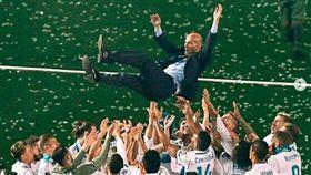 ▲Zinedine Zidane。(圖/席丹IG)