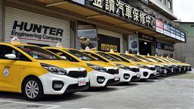 台灣大車隊下單購入上百台Carens作為計程車。(圖/KIA提供)